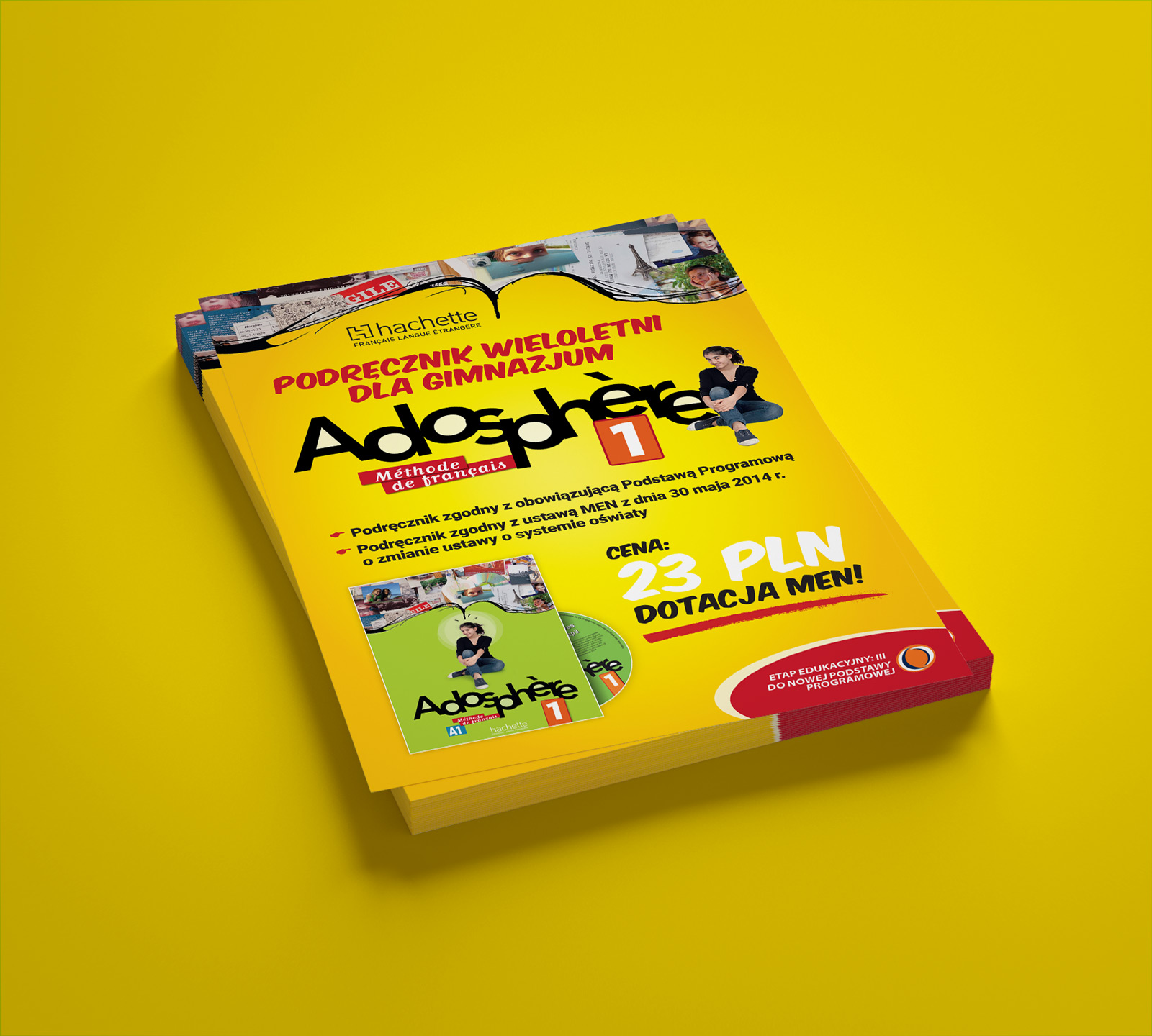 "Ulotka ""Adosphère"" - Hachette FLE"