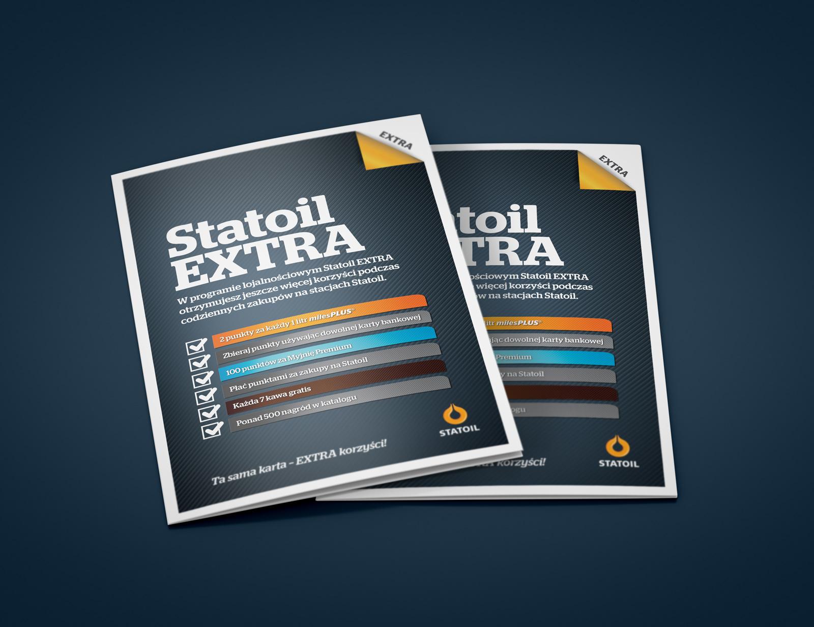 Ulotka 'Statoil Extra' - Statoil