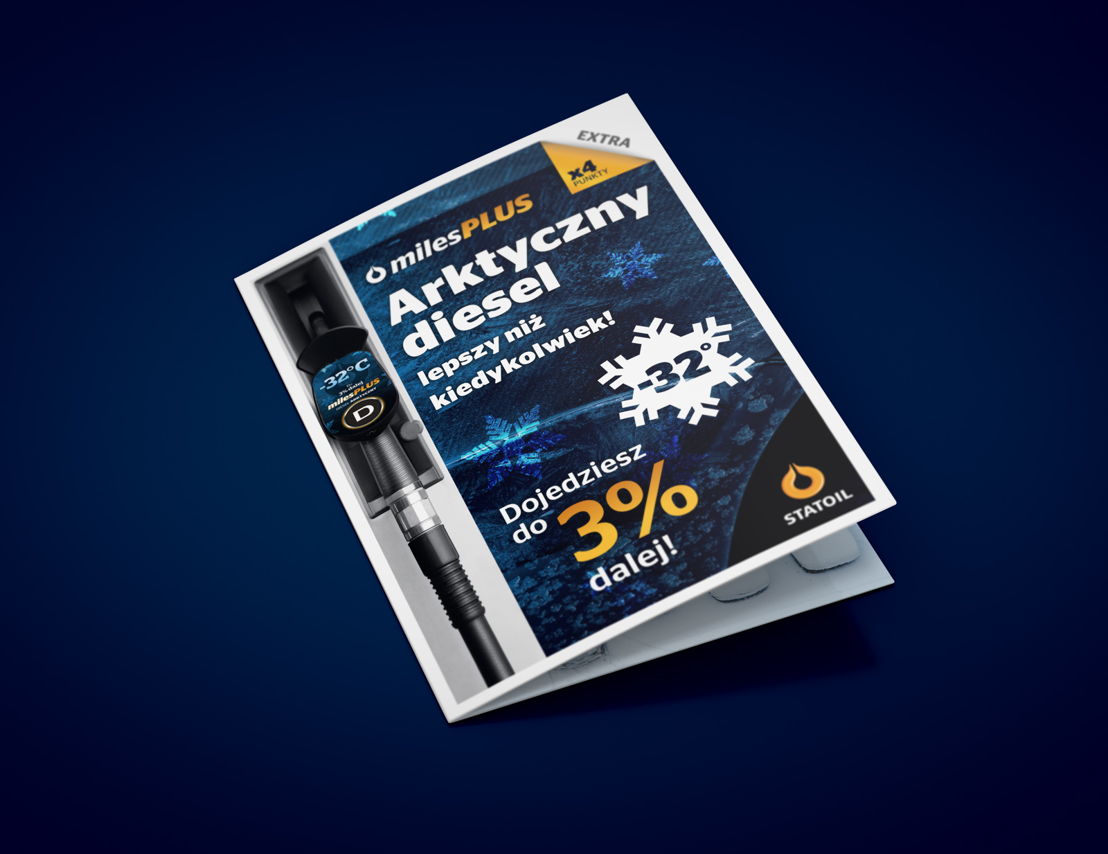 Ulotka 'Arktyczny diesel' - Statoil