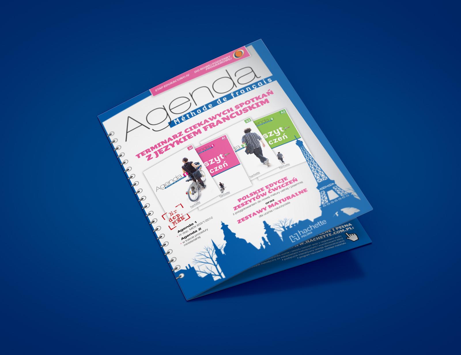"Broszura ""Agenda"" - Hachette FLE"