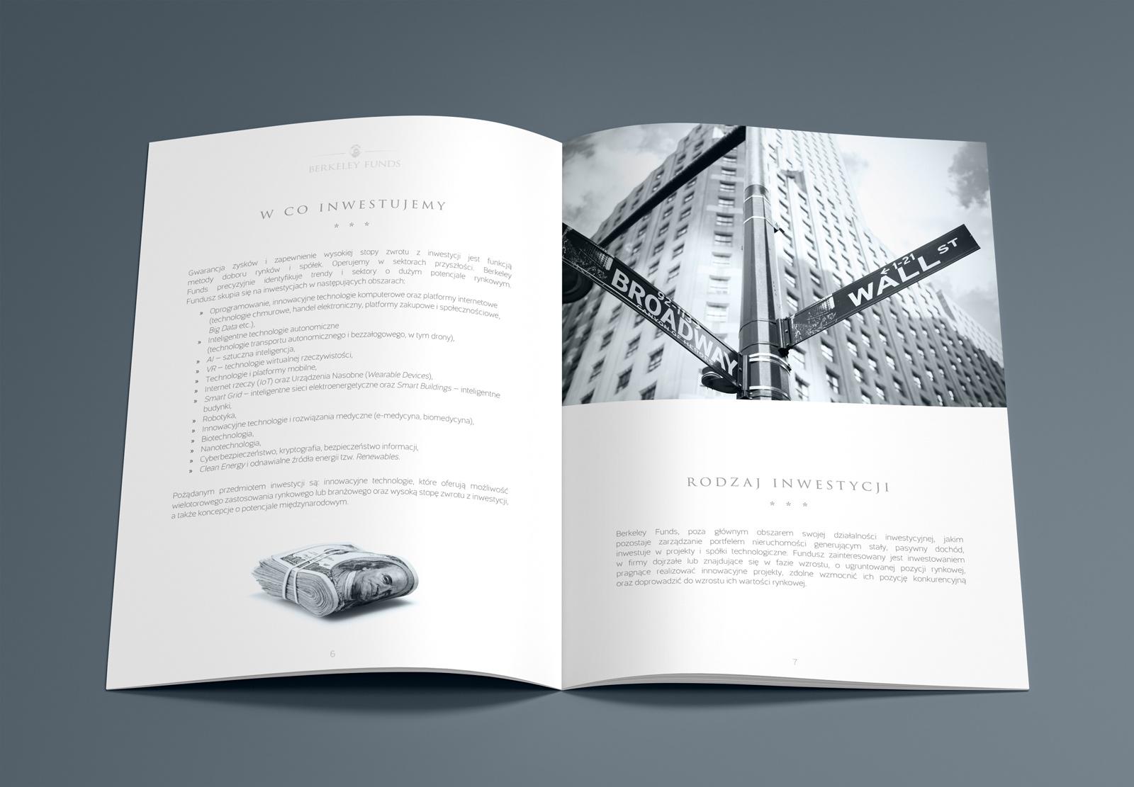 Folder firmowy - Berkeley Funds