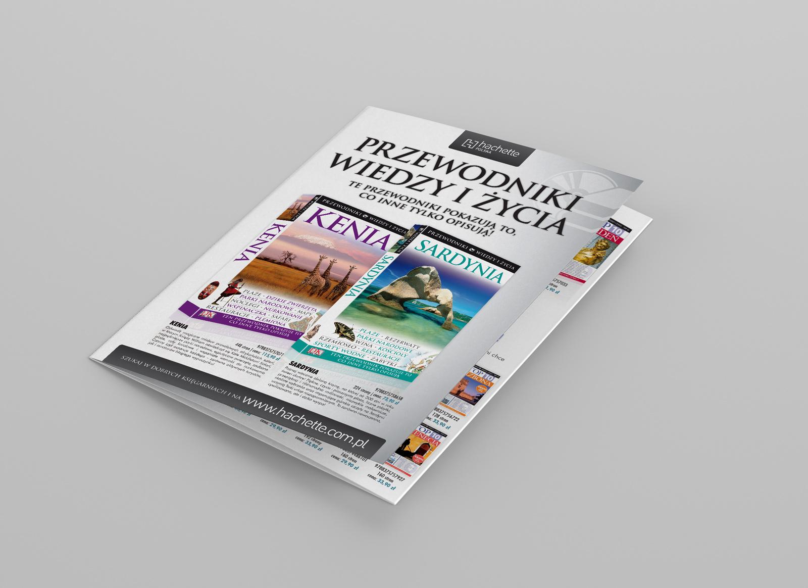"""Broszura """"Przewodniki Wiedzy i Życia"""" - Hachette Polska"""