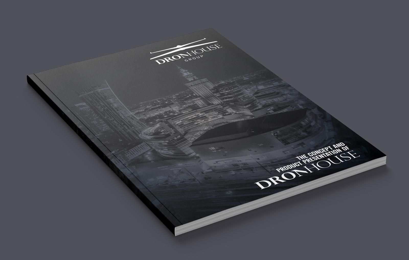 Folder firmowy - Dron House