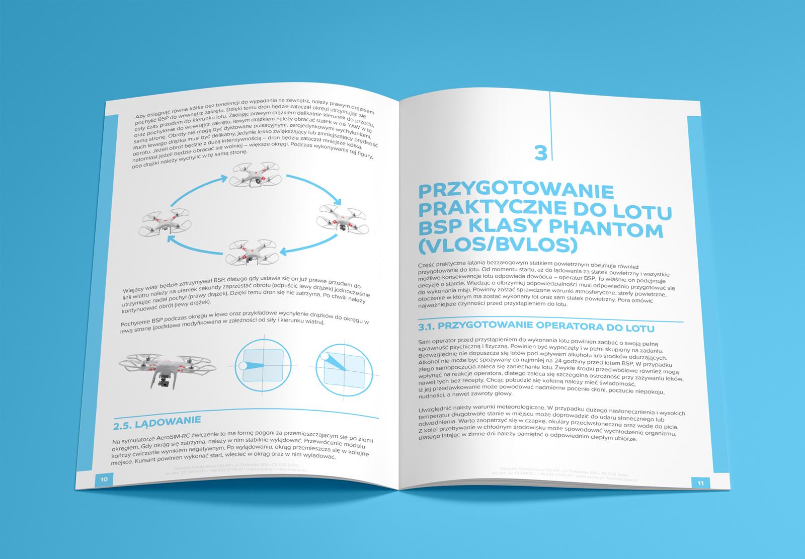 """Folder """"Latanie bezzałogowym statkiem powietrznym..."""" - CS UAV"""
